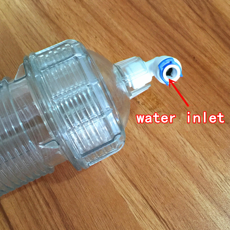 Membrane Housing RO System Water Filter Female Connection + 3 Pcs Quick Fittings