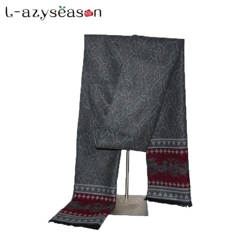 2018 Fashion design men's Winter Cashmere Scarf Men Luxury Brand High Quality Neckerchief Winter Warm Soft Shawls Wraps Scarves