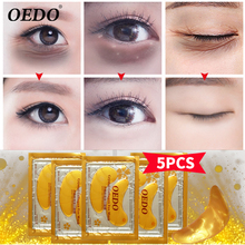 5pcs collagen eye mask eye care remove dark circles anti-aging wrinkle edema moisturizing eye mask moistfull collagen