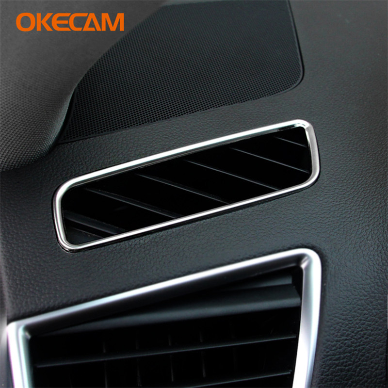 OKECAM Car Front Air Conditioning Vent Outlet Trim