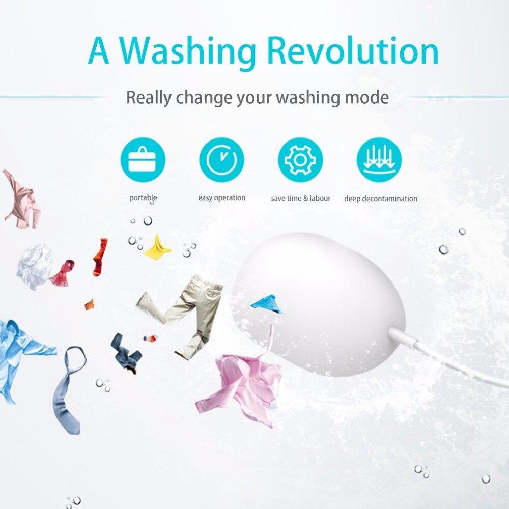 Универсальный Портативный Мини-Прачечная устройства бытовой ультразвуковая стиральная машина экономии времени глубокой очистки для путе...