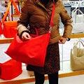 2016 Nylon bolsa de Las Mujeres bolsos de cuero genuino de las mujeres famosas marcas de Bolsos de playa plegable Bolsas De Compras Ocasionales bolsa