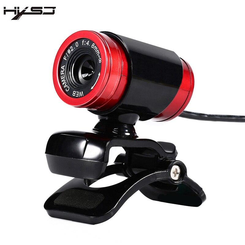 Hxsj A860 HD Webcam 12.0 м Пиксели CMOS USB веб-Камера цифрового видео HD встроенный микрофон 360 градусов Rotaion клип на Камера