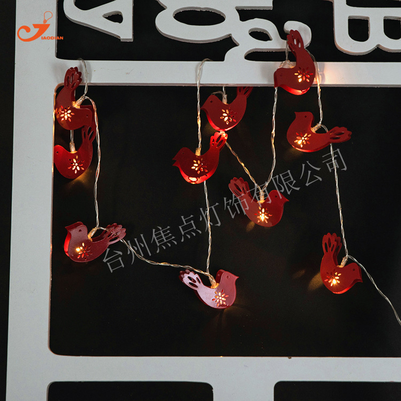 Top Quality 10 Leds Fairy String Christmas Lights Red ...