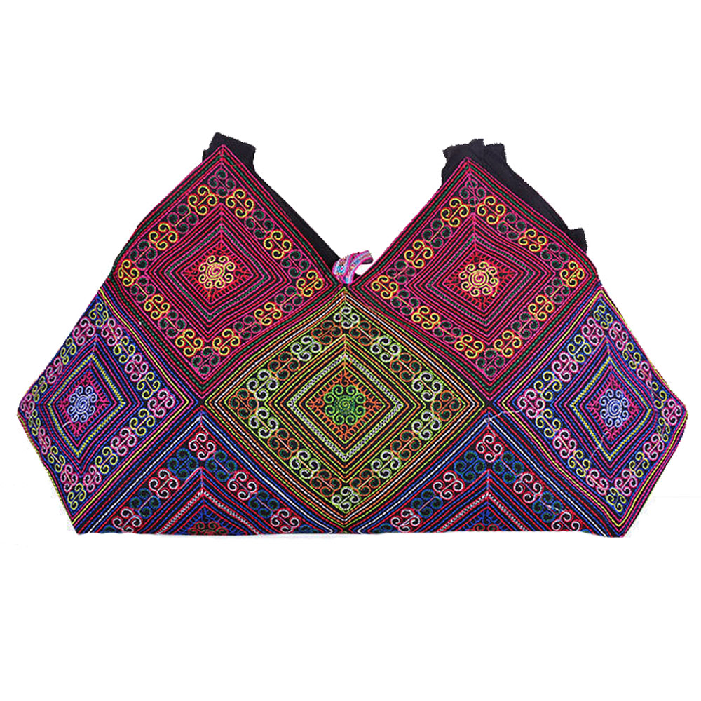 Women's Mandala Embroidery Shoulder Bag 1