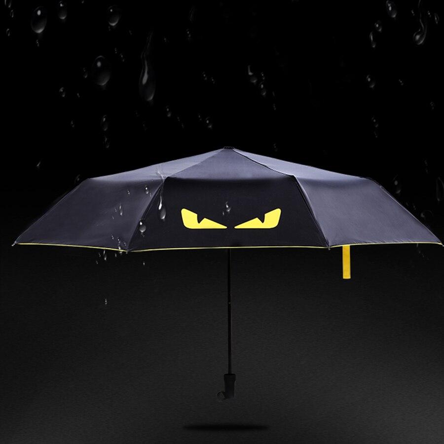 I Love Pickles Automatic Tri-Fold Umbrella Parasol Sun Umbrella Sunshade