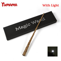Harry Potter Magic Wand With Led Light Cosplay Hermione Magic Wand Light Stage Magical Stick COS