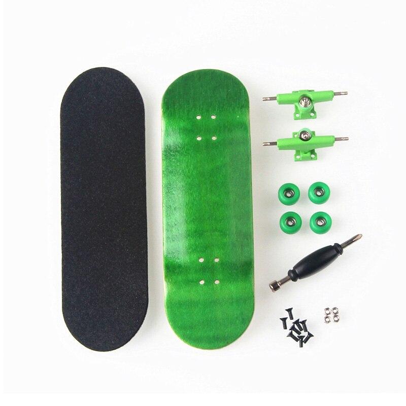 Nowy Kreatywny Mini Deskorolka 8 Kolorów Skate Dziecko Zabawki Na Palec Profesjonalny Typ Koła łożyskowane Skid Pad Drewno Klonowe Skate