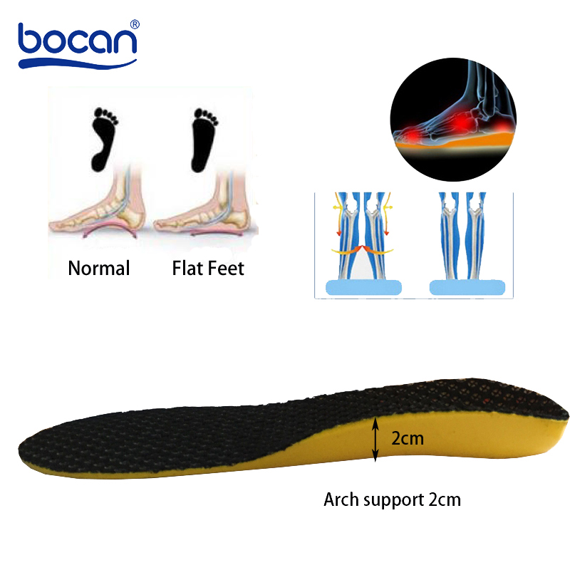 Купить ортопедические стельки с супинатором для плоскостопия впитывающие