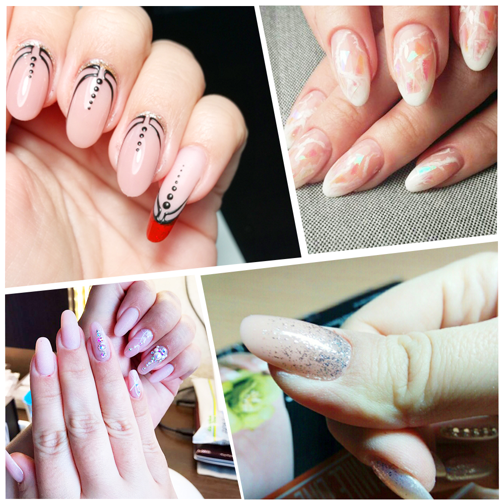 312pcs Fake Nails Molds Dual System Form False Nail Clear ...