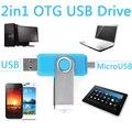 100% Ри Android Смартфон USB Флэш-Накопители OTG флэш-Накопитель Micro USB Otg 8 ГБ 16 ГБ 32 ГБ 64 ГБ Смартфон Диск На Ключ Pendrive 1 ТБ