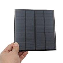 3W 12V мини солнечная панель своими руками поликремниевое солнечное зарядное устройство для дома офиса улицы активности_ WK