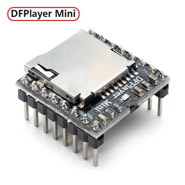Mini MP3 Player Module TF Card U Disk Mini MP3 Player Audio Voice Module Board For Arduino UNO DF Play MP3-TF-16P Wholesale