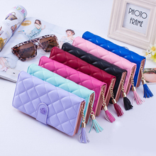 2018 New Design Leather Wallets Women Brand Purses For Woman Wallet Long Hasp Fe