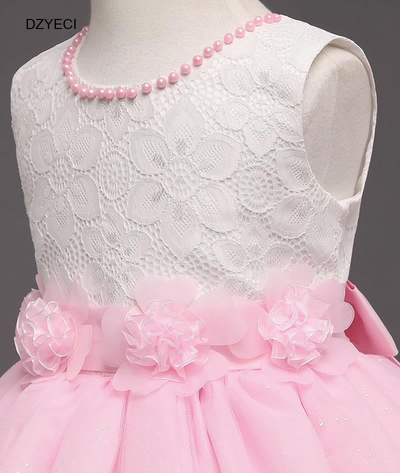 ee1a4cd06ca 2018 Carnaval Costumes pour bébé fille robes Deguisement enfants Floral bal  cérémonie mariage fête Elza Deguisement enfant tissu dans Robes de Mère et  ...