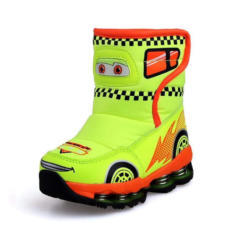 Winter new dog snow boots boys girls cute anti-wet anti-slip shoes princess winter snow shoes blackman malorie snow dog