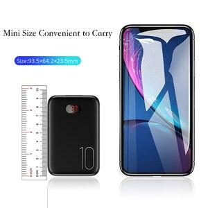 Image 2 - Power Bank Voor Xiaomi Mi Iphone, usams Mini Pover Bank 10000 Mah Led Display Powerbank Externe Batterij Poverbank Snel Opladen
