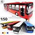 Autobuses con aire acondicionado Modelo Del Metal Del Coche Tire Hacia Atrás Juguetes acustóptica Coche Puerta Abierta, clásico de Aleación Modelo de Coche Antiguo, Envío Libre