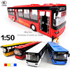Klimatyzowane autobusy metalowy samochód Model otwarty uchwyt do drzwiczek powrót akustyczno-optyczny samochodzik dla dziecka, klasyczny stop antyczny Model samochodu, darmowa wysyłka
