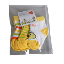 2016 New Arrival 3 Pairs Newborn Baby Socks Cotton Non-slip Striped Kids Socks 0-12 Months Infant Clothing Accessories