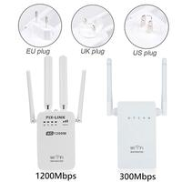 AC 300/1200Mbps AC1200M 5G Wireless Repeater High Speed 5G Gigabit WiFi Router Antenna PIXLINKAC05 Office & School Supplies