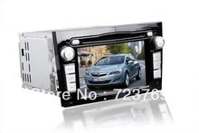 Car DVD Player GPS Navigation System Auto Radio Autoradio for Opel Vectra/ Astra/ Zafira/ Antara(2005-2009) ( Black & Gray)