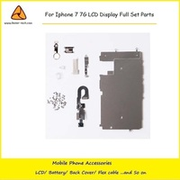 10PCS Lot For Iphone 7 7G LCD Digitizer Full Set Small Repair Part Metal Shield Plate