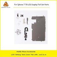 10PCS Lot For Iphone 7 7G LCD Digitizer Full Set Small Repair Part Metal Shield Plate