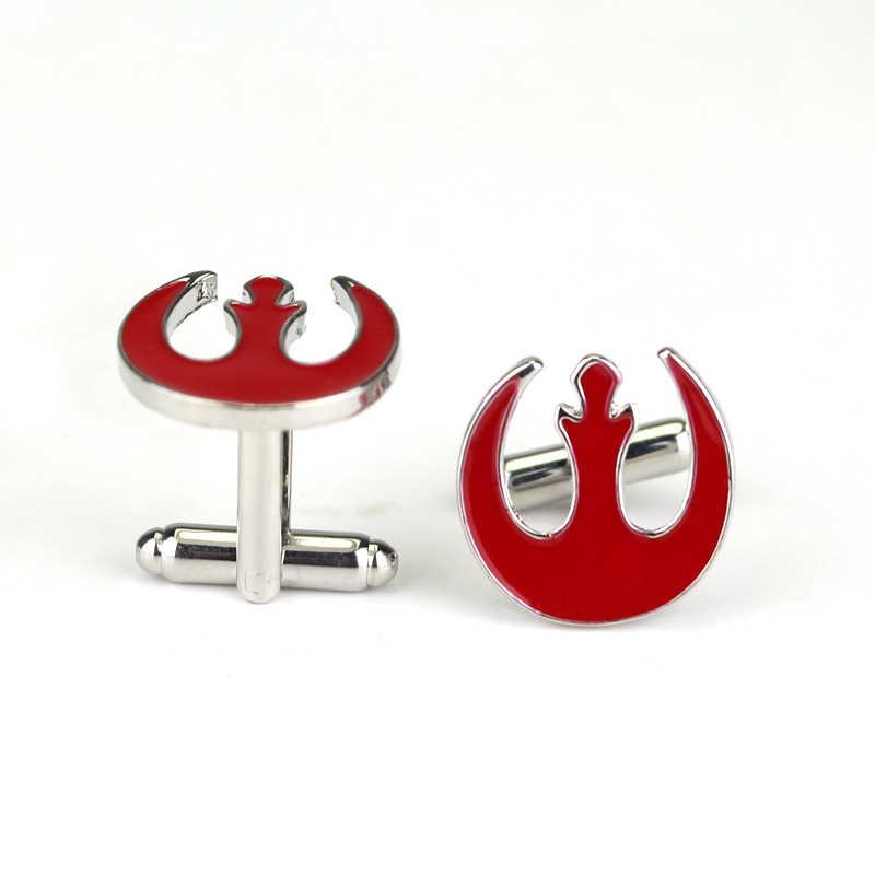 Dongsheng запонки Звездные войны красный цвет модные новые фрацузские мужские запонки для мужчин рубашка ювелирные украшения в подарок-40