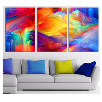 diamond painting 3 pcs full square cross stitch 3d pictures diamond embroidery abstract scenery diamond mosaic home Decor Z358