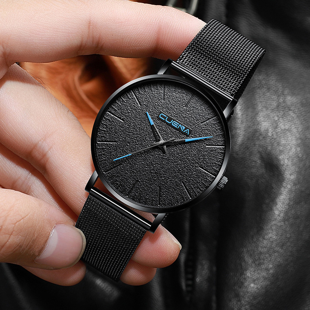 <font><b>Luxury</b></font> <font><b>Ultra</b></font> <font><b>Thin</b></font> Wrist <font><b>Watches</b></font> for <font><b>Men</b></font> Top Brand Quartz Male Clock Waterproof Man <font><b>Watch</b></font> New Dropshipping Relogio Masculino <font><b>2019</b></font> image