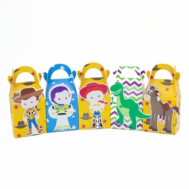 Toy Story Faveur Boîte De Bonbons Boîte Cadeau BoxCupcakeBox ...