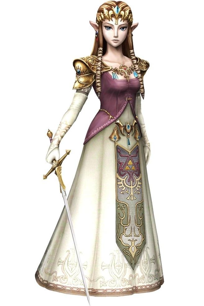 ᗛLa leyenda de Zelda princesa Zelda Cosplay envío libre para ...