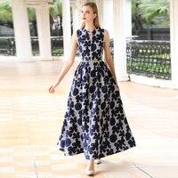 New Candy Colour Elegant Dresses Women Sleeveless Chiffon Princess A Line Dress Maxi Long Dress Vestidos