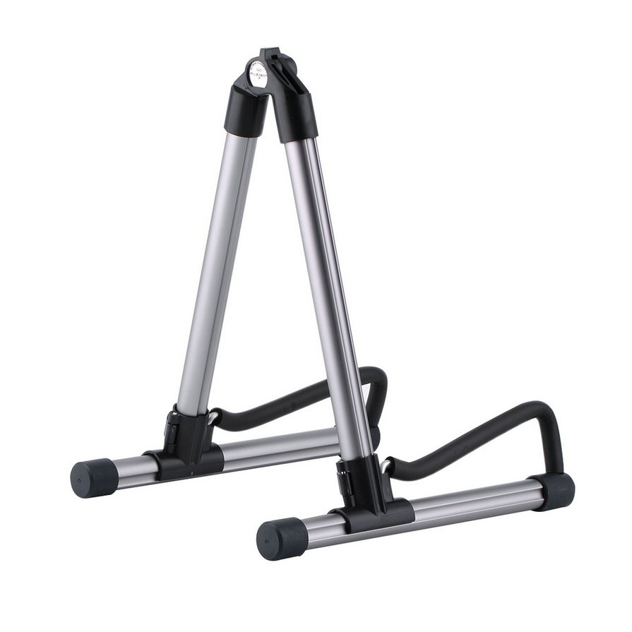 New Guitar Stand Universal Folding A-Frame use for Acoustic Electric Guitars Guitar Floor Stand Holder High Quality folding a frame electric guitar floor stand holder acoustic guitar electric guitar bass floor rack holder promotion