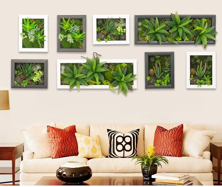 Hot 3d Artificial Potted Plants Home Decoration Nature