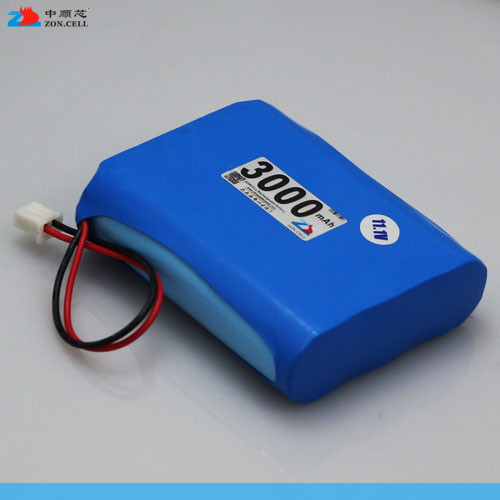 In the 3000mAh 12V smoke alarm monitoring equipment of lithium battery 11.1V heater square dance sound box Rechargeable Li-ion C