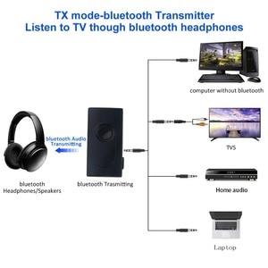Image 3 - Kebidu 2 ב 1 Bluetooth משדר מקלט אלחוטי A2DP 3.5mm סטריאו אודיו מוסיקה מתאם עבור טלוויזיה DVD Mp3 מחשב שחור