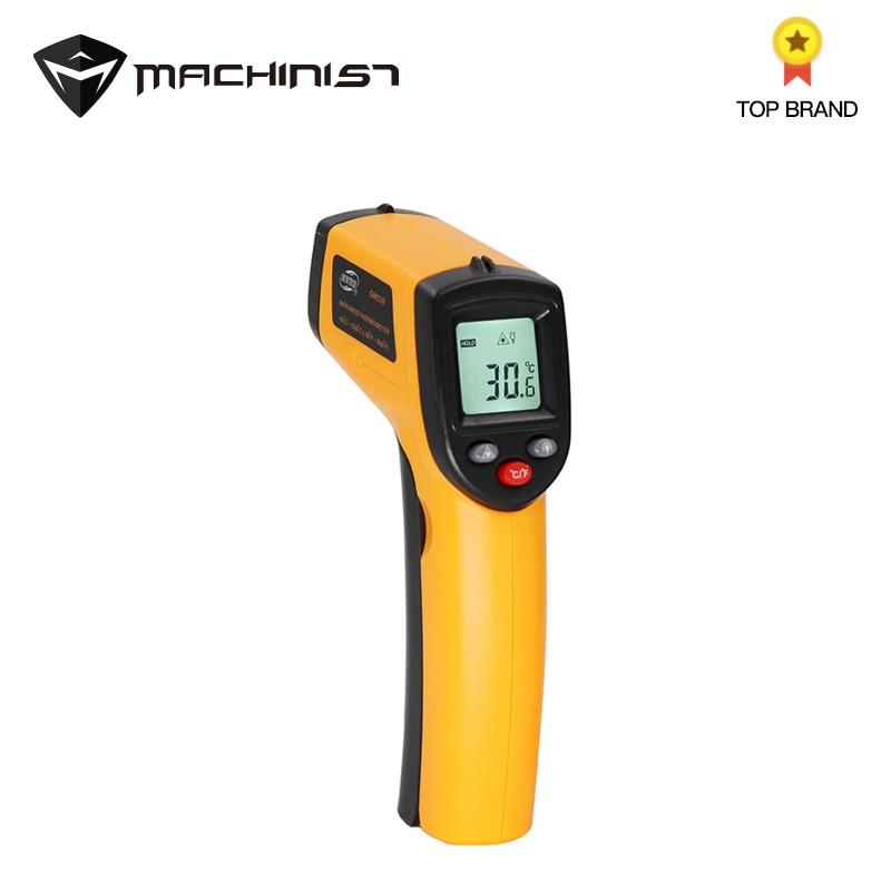 Digital Infrared Thermometer LCD Display Surroundings Temperature Tester Non contact Auto Car font b Repair b