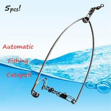 Automatic Fishing Catapult Hook Lazy Fishing Tools High Efficiency Fishing tackle new automatic fishing double hook explosive hook handy fishing tackle fishing tackle