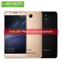 Leagoo M5 Borde 4G LTE Smartphone Android 6.0 Quad Core 2 GB RAM 16 GB ROM 5.0 Pulgadas 1280*720 13MP 2000 mAh Teléfono Móvil de Huellas Digitales