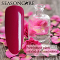 SEASONCARE natural pure Non-toxic brand-Rose extracted nail gel polish need uv led lamp to cure green healthy brand