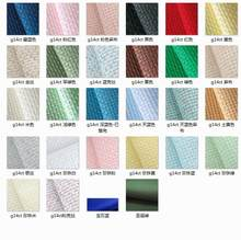 oneroom 14 Count (14 CT) 50X50cm Aida Cloth Cross Stitch Fabric light green/blue Best Quality Free Shipping(China)