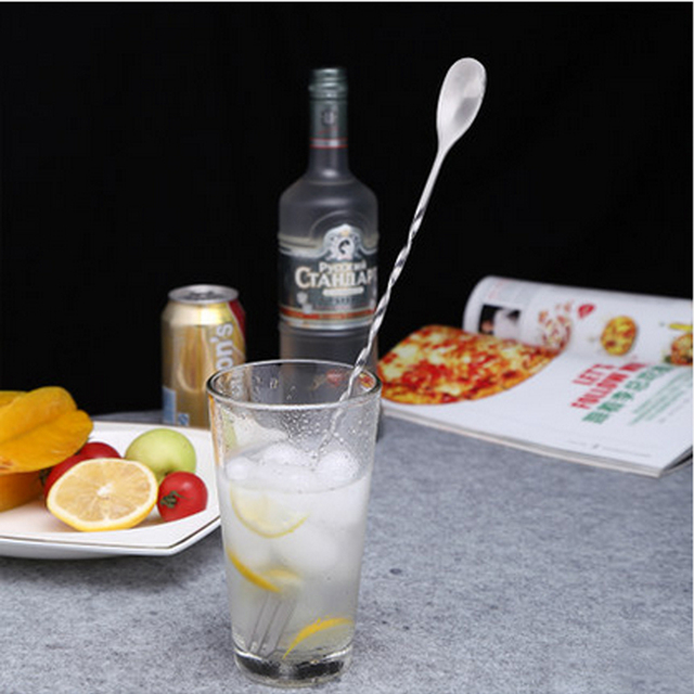Stainless Steel Mixing Spoon for Cocktail Making