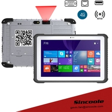 10.1 inch RJ45 ethernet port windows 10 4G+64G portable rugged Tablets