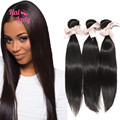 Halo Lady Hair Products Indian Virgin Hair Straight 3Pcs/lot 7A Virgin Indian Hair Extensions Aliexpress India Human Hair Weaves