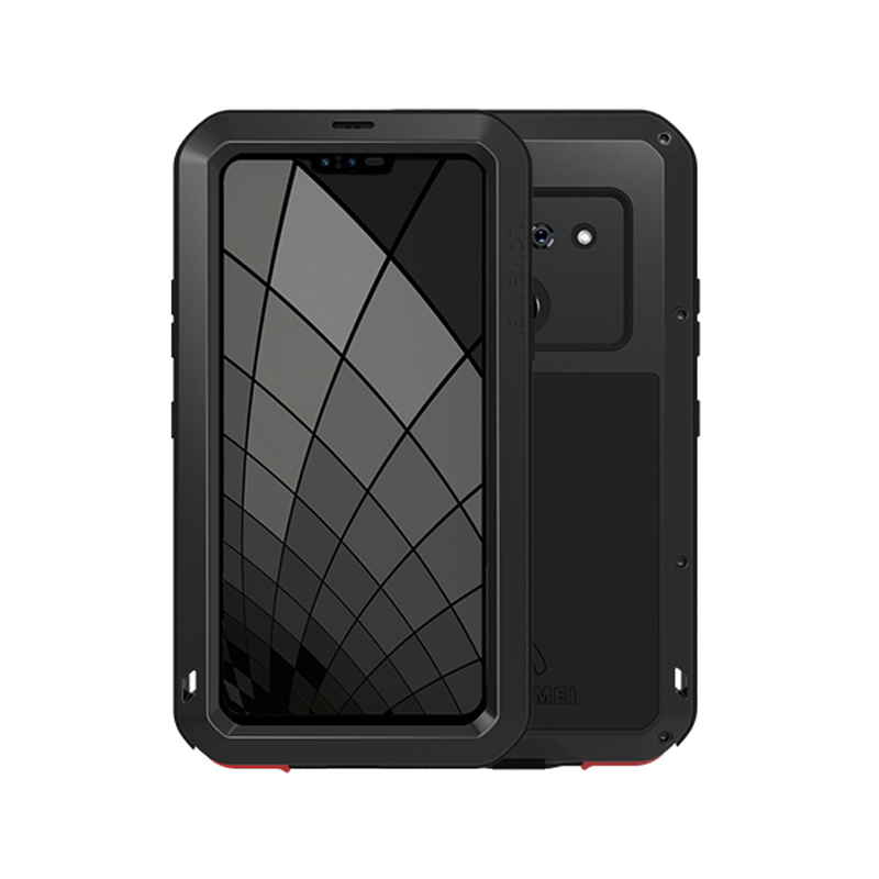 Metal Armor Heavy Duty Protective Case For LG G8 ThinQ Case Shockproof Full Body With Gorrila Glass Cover LG G8 ThinQ Cover LGG8Metal Armor Heavy Duty Protective Case For LG G8 ThinQ Case Shockproof Full Body With Gorrila Glass Cover LG G8 ThinQ Cover LGG8