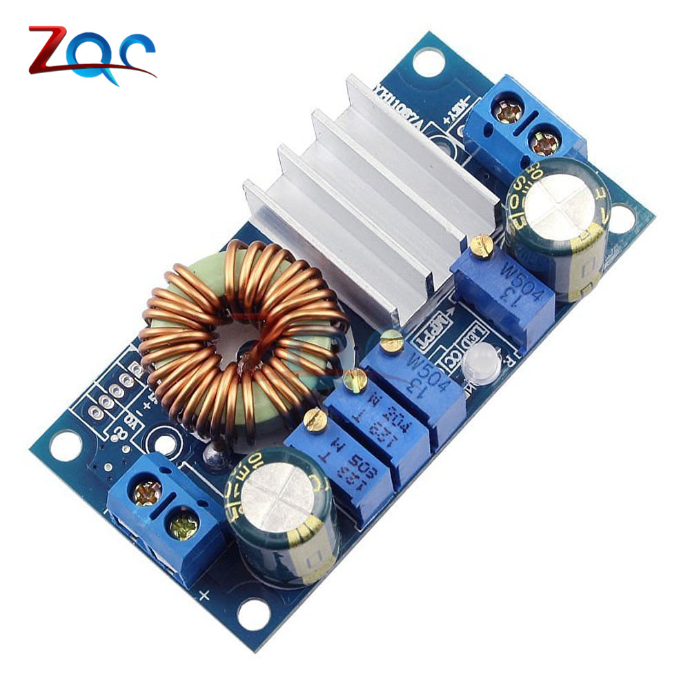5A DC-DC MPPT Solar Energy Controller Buck Step Down Charging Battery Board Module Constant Current Voltage Charger Panel Module itead acs712 current sensor module dc ± 5a ac current detection module works w official arduino