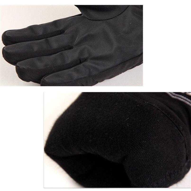 Warm Ski Snowboard Skiing Gloves Motorcycle Riding Winter Gloves Windproof Waterproof Snow Glove Men Women cycling gloves #2s18 (6)