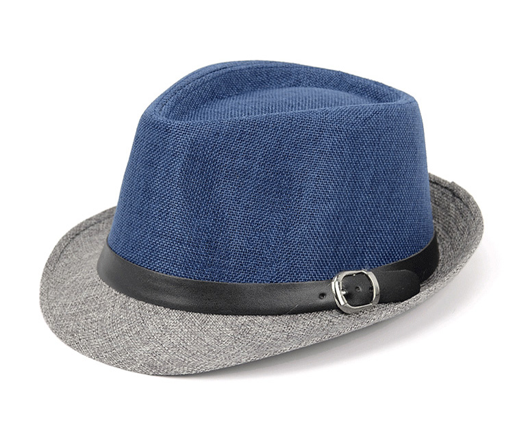 9eda9c9deac Men s Jazz Hat Panama Cap Ladylike Elegant Fedoras Hats Women ...